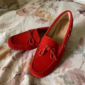 Cherry Red Loafers